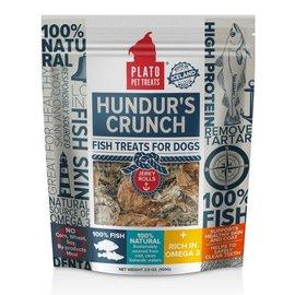 Plato Pet Treats Plato Hundur Crunch Jerky Roll Dog Treat, 3.5-oz Bag