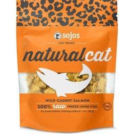 Sojos Sojos Cat Naturals Salmon Freeze-Dried Treats, 1-oz Bag