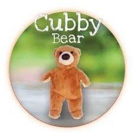 """Fluff & Tuff Inc. Fluff & Tuff Cubby Bear Dog Toy 5"""""""
