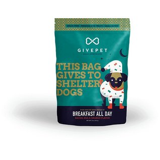 GivePet GivePet Breakfast All Day Grain-Free Dog Treat 12oz