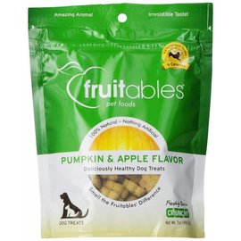 Fruitables Fruitables Pumpkin & Apple Crunchy Dog Treat 7oz