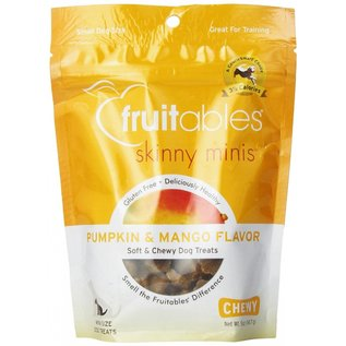 Fruitables Fruitables Skinny Minis Pumpkin & Mango Soft & Chewy Dog Treat 5oz