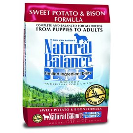 Natural Balance Natural Balance Limited Ingredient Sweet Potato & Bison Grain-Free Dry Dog Food