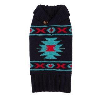 Fab Dog Fab Dog Navy Tribal Sweater
