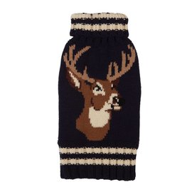 Fab Dog Fab Dog Navy Stag Sweater