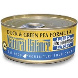 Natural Balance Natural Balance Cat Duck & Green Pea Limited Ingredient Canned Food
