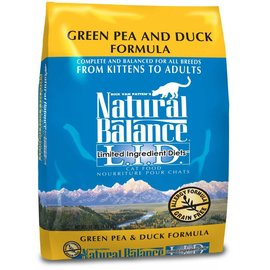 Natural Balance Natural Balance Cat Green Pea & Duck Limited Ingredient Dry Food