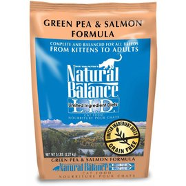 Natural Balance Natural Balance Cat Green Pea & Salmon Limited Ingredient Dry Food