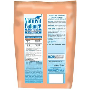Natural Balance Natural Balance Cat Green Pea & Salmon Limited Ingredient Dry Food