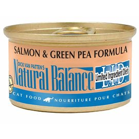 Natural Balance Natural Balance Cat Salmon & Green Pea Limited Ingredient Canned Food 3-oz Can