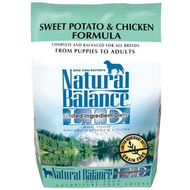 Natural Balance Natural Balance Sweet Potato & Chicken Limited Ingredient Dry Dog Food