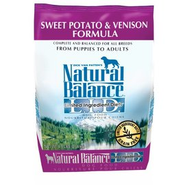 Natural Balance Natural Balance Sweet Potato & Venison Limited Ingredient Dry Dog Food