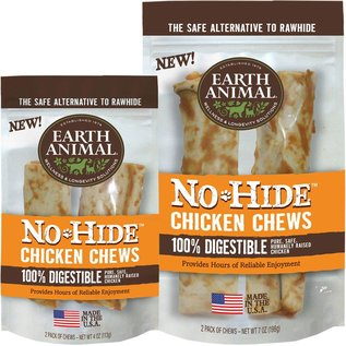 Earth Animal Earth Animal No-Hide Chicken Dog Chews, 2-Pack