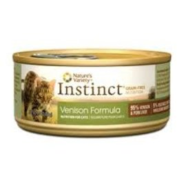 Nature's Variety Nature's Variety Instinct Venison Grain-Free Canned Cat Food 3-oz Can