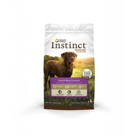 Nature's Variety Nature's Variety Instinct Rabbit Meal Grain-Free Dry Dog Food 4.4-lb Bag