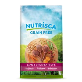 Nutrisca Nutrisca Dogswell Lamb & Chickpea Grain-Free Dry Dog Food
