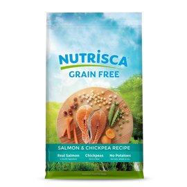 Nutrisca Nutrisca Dogswell Salmon & Chickpea Grain-Free Dry Dog Food