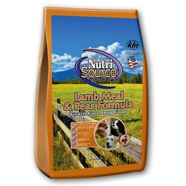 Nutrisource NutriSource Lamb Meal & Pea Grain-Free Dry Dog Food