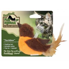 Our Pets Our Pets Play-N-Squeak Touchdown Cat Toy