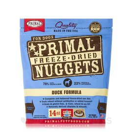 Primal Pet Foods Primal Duck Freeze Dried Dog Food 14-oz Bag