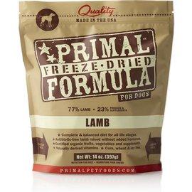 Primal Pet Foods Primal Lamb Freeze Dried Dog Food 14-oz Bag