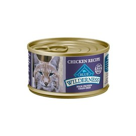 Blue Buffalo Blue Buffalo Wilderness Adult Chicken Grain-Free Canned Cat Food