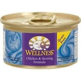 Wellness Wellness Cat Chicken & Herring Grain-Free Canned Food