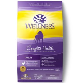 Wellness Wellness Complete Health Adult Deboned Chicken & Oatmeal Dry Dog Food