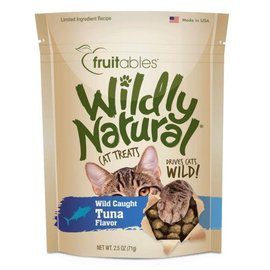 Fruitables Fruitables  Wildly Natural Tuna Cat Treat 2.5-oz Bag