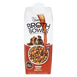Fruitables Fruitables Broth Bowls Beef 16.9-oz Container