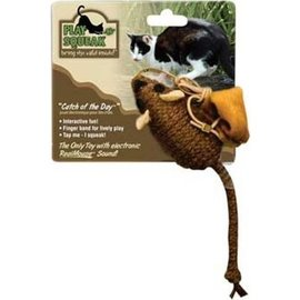 Our Pets Our Pets Play-N-Squeak Catch Of The Day Cat Toy