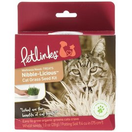 Petlinks Petlinks Nibble-Licious Cat Grass Seed Kit