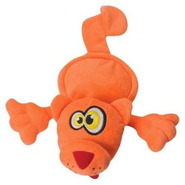 Quaker Pet Group Quaker Pet Group Hear Doggy Flats Orange Cat Dog Toy