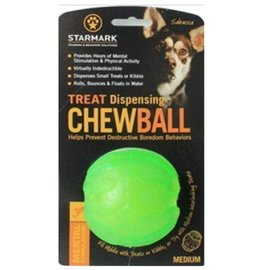 Starmark Starmark Treat Dispensing Chew Ball