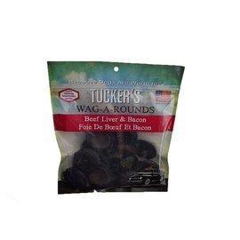 Tucker's Tucker's Wag-A-Round Beef Liver and Bacon Grain-Free Dog Treat 6-oz Bag
