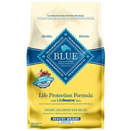 Blue Buffalo Blue Buffalo Adult Chicken & Brown Rice Healthy Weight Dry Dog Food