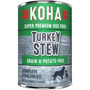 Koha Koha Turkey Stew Grain-Free Canned Dog Food, 12.7-oz Can