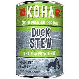 Koha Koha Duck Stew Grain-Free Canned Dog Food, 12.7-oz Can