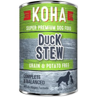 Koha Koha Duck Stew Grain-Free Canned Dog Food, 12.7-oz Can