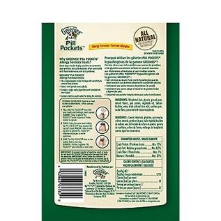 Greenies Greenies Dog Duck & Pea Grain-Free Pill Pockets for Capsules 6.6-oz Bag