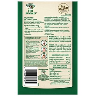 Greenies Greenies Dog Pill Pockets Hickory Smoke Flavor for Capsule 7.9-oz Bag