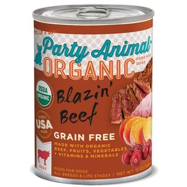 Party Animal Party Animal Blazin' Beef Grain-Free Canned Dog Food 13-oz Can