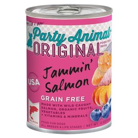 Party Animal Party Animal Jammin' Salmon Grain-Free Canned Dog Food 13-oz Can