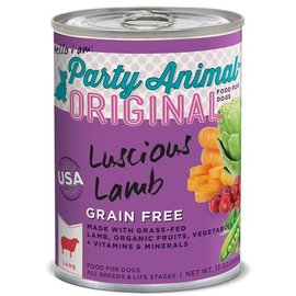 Party Animal Party Animal Luscious Lamb Grain-Free Canned Dog Food 13-oz Can