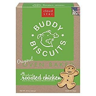 Cloud Star Cloud Star Buddy Biscuits Chicken Dog Treats 16-oz Box