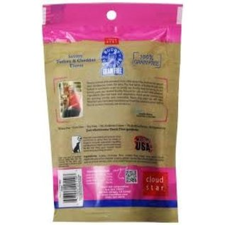 Cloud Star Cloud Star Cat Savory Turkey & Cheddar Grain-Free Soft Treats 3-oz Bag