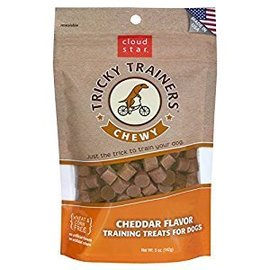 Cloud Star Cloud Star Chewy Tricky Trainer Cheddar Dog Treats