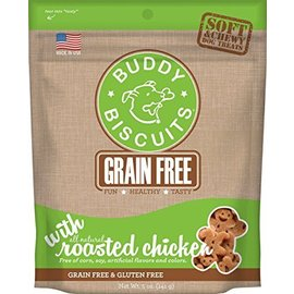 Cloud Star Cloud Star Roasted Chicken Grain-Free Soft Dog Treats 5-Oz Bag