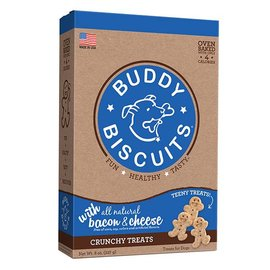 Cloud Star Cloud Star Buddy Biscuits Teeny Treats Bacon & Cheese Dog Treats 8-Oz Box