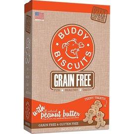Cloud Star Cloud Star Buddy Biscuits Teeny Treats Peanut Butter Grain-Free Dog Treats 7-Oz Box